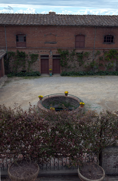 antica cisterna raccolta acqua piovana