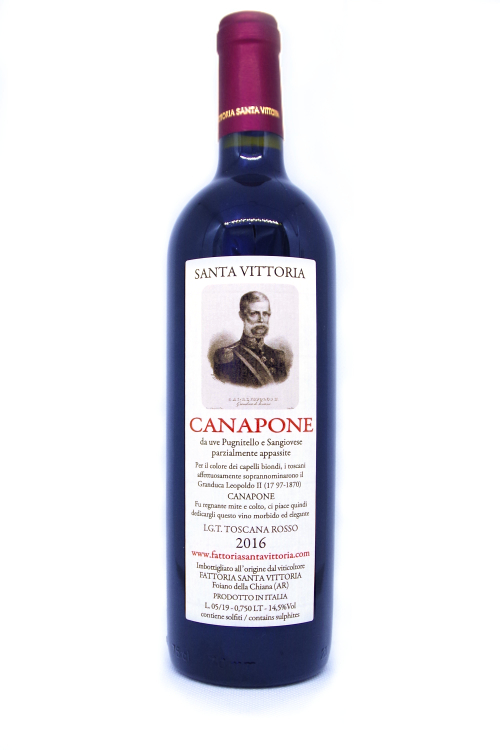 Canapone IGT Red Botrytis wine